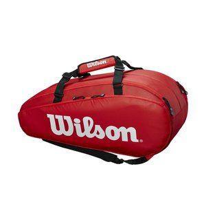 ウイルソン Wilson テニスバッグ・ケース  TOUR 2 COMP RED LARGE WRZ848909|kpi