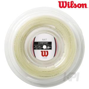 Wilson ウイルソン 「NXT 16 REEL 200mロールガット WRZ912700」硬式テニスストリング ガット  『即日出荷』|kpi