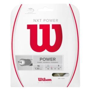 Wilson ウイルソン 「NXT POWER 16 WRZ941600」硬式テニスストリング ガット [ポスト投函便対応]|kpi
