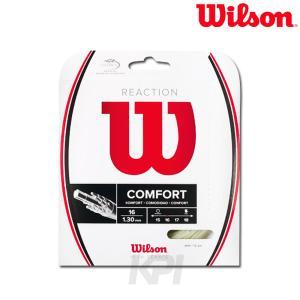 Wilson ウイルソン 「REACTION 16 リアクション 16  WRZ948200」硬式テニスストリング ガット [ポスト投函便対応]|kpi