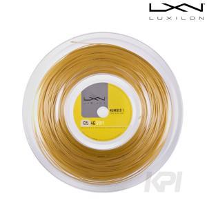 LUXILON ルキシロン 「4G Soft 4Gソフト  1.25 200mロール WRZ990143」硬式テニスストリング ガット  『即日出荷』|kpi