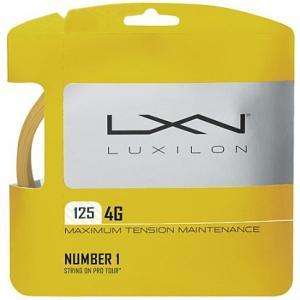 『即日出荷』 LUXILON(ルキシロン)「LUXILON 4G 125 WRZ997110」硬式テニスストリング