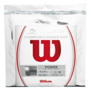 「2017モデル」Wilson ウイルソン 「CHAMPION'S CHOICE DUO チャンピオンズ チョイス デュオ WRZ997900」硬式テニスストリング ガット 「KPI」|kpi