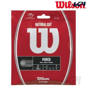 Wilson ウイルソン 「NATURAL 16  ナチュラルガット 16  1.30 WRZ999...