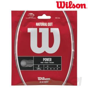 Wilson ウイルソン 「NATURAL 17  ナチュラルガット 17  1.25 WRZ999...