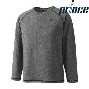 プリンス Prince テニスウェア ユニセックス ウォームロングスリーブシャツ WU8035 2018FW[ポスト投函便対応]|kpi