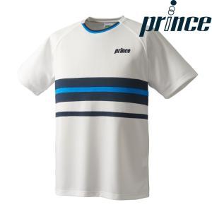プリンス Prince テニスウェア ユニセックス ゲームシャツ WU8037 2018FW[ポスト投函便対応]|kpi