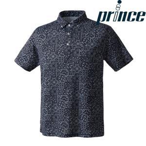 プリンス Prince テニスウェア ユニセックス ボタンダウンシャツ WU8111 2018FW[ポスト投函便対応]|kpi