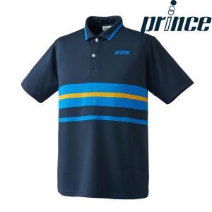 プリンス Prince テニスウェア ユニセックス ゲームシャツ WU8115 2018FW[ポスト投函便対応]|kpi