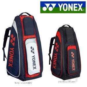 「2017新製品」YONEX ヨネックス 「スタンドバッグ リュック付 テニス6本用 BAG1819...