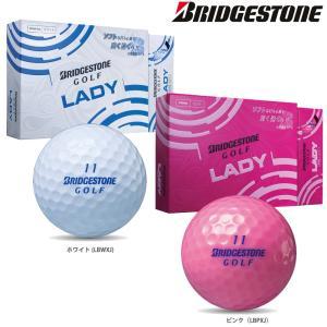 ブリヂストン BRIDGESTONE ゴルフボール  BRIDGESTONE GOLF ゴルフボール LADY [1ダース:12個] BSG-LADY|kpisports