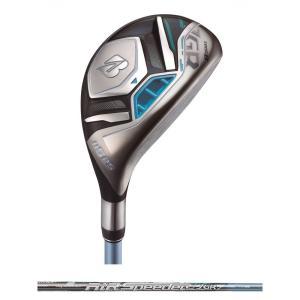 ブリヂストン BRIDGESTONE ゴルフクラブ レディース TOUR B JGR LADY HY BLUE [AiR Speeder JGR for Utility] カーボン 1本 GLJB1U|kpisports