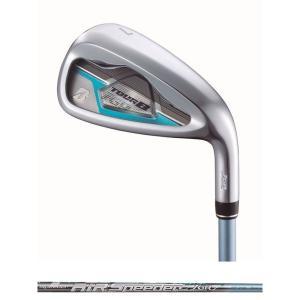 ブリヂストン BRIDGESTONE ゴルフクラブ レディース TOUR B JGR LADY IRON BLUE [AiR Speeder JGR for Iron] カーボン 5本セット #7〜9,#PW,SW  GLJB5I|kpisports