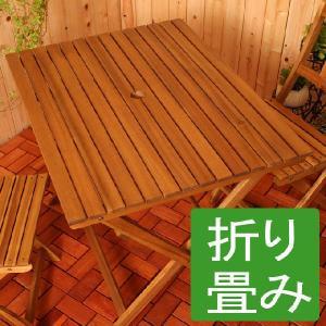 ガーデンテーブル ガーデンテーブル 折りたたみテーブル 折り畳み式テーブル おりたたみテーブル 庭用テーブル アウトドアテーブル 屋外テーブル|kplanning