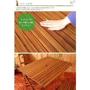 ガーデンテーブル ガーデンテーブル 折りたたみテーブル 折り畳み式テーブル おりたたみテーブル 庭用テーブル アウトドアテーブル 屋外テーブル|kplanning|04