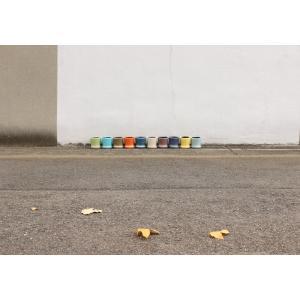 DULTON ダルトン カラーグレーズポット 植木鉢 鉢 フラワーポット 多肉植物 サボテン 花 植物 プラント 艶 ツヤ インテリア レトロ おしゃれ ひび割れ模様|kplanning|06