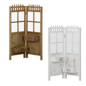 二折スクリーン型プランタースタンド プランタースタンド フラワースタンド フラワーポット プランター台 プランターラック 植木鉢置き 植木鉢台の写真