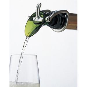 ワインカラーシャンパンストッパー&ポアラー シャンパンポワラー シャンパンストッパー シャンパンキー...