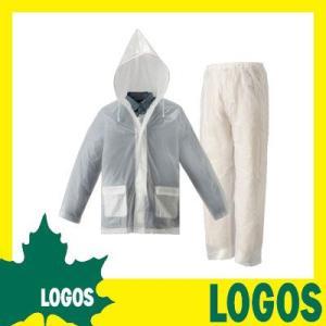 ロゴス LOGOS レインスーツ レインコート レインウェア 雨合羽 カッパ 雨具 撥水 防水 メンズ レディース メッシュ パンツ 軽量 透明 フード 上下 ジャケット kplanning