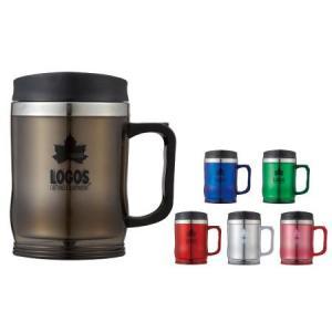 マグカップ ロゴス LOGOS プリメイヤーマグ コーヒーカップ タンブラー 蓋付き 保温 420ml 冷めにくい 飲みやすい プルタブ ツーリング 登山 BBQ キャンプ|kplanning|04