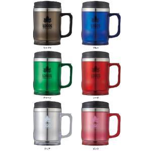 マグカップ ロゴス LOGOS プリメイヤーマグ コーヒーカップ タンブラー 蓋付き 保温 420ml 冷めにくい 飲みやすい プルタブ ツーリング 登山 BBQ キャンプ|kplanning|06