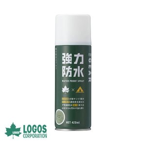 防水スプレー ロゴス LOGOS 強力防水スプレー(420ml) アウトドア用品 テントアクセサリー...