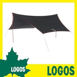 Black UV ヘキサタープ 5750-AI タープ タープテント サンシェード 日よけ 日除け LOGOS ロゴス UVカット 遮光 ヘキサゴン型 六角形 幅570cm 大型 ワイド|kplanning
