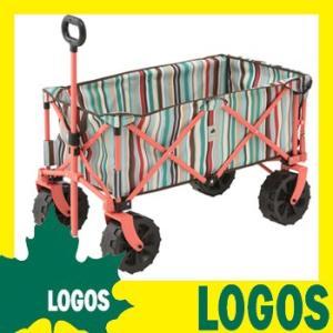 丸洗い長いモノOKキャリー(ブルーストライプ) キャリーカート 荷台 折りたたみ 折り畳み アウトドア LOGOS ロゴス おしゃれ 丈夫 大容量 送料無料|kplanning