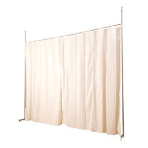 カーテン 目隠しカーテン  パーテーション パーティション つっぱりカーテン フック式 伸縮式 高さ調節 日本製 おしゃれ リビング ランドリー 子供部屋 kplanning