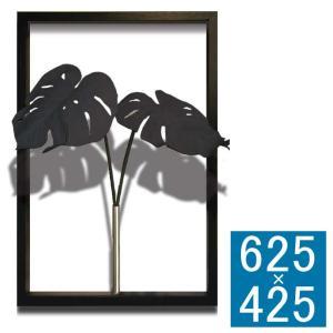 アートディスプレイ アートフレーム  壁飾り 額縁 壁掛けインテリア  フレームアート   グリーンアート 造花 フェイクグリーン 人工観葉植物 おしゃれ kplanning