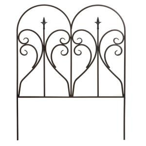 アイアンエッジ フィニアル アイアンフェンス ガーデンフェンス トレリス トレリスフェンス 柵 間仕切り ガーデニング用品  アイアン おしゃれ|kplanning