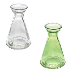 TINY VASE CLEAR NO.1 花瓶 フラワーベース 花びん 花器 一輪挿し ガラスベース ガラスボトル インテリア雑貨 球根ポット 水栽ポット