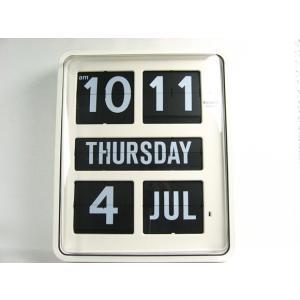 TWEMCO トゥエンコ 大型カレンダークロック BQ-1700 掛け時計 インテリア小物 置物 時計 壁掛け時計 掛時計 壁掛時計 インテリア kplanning