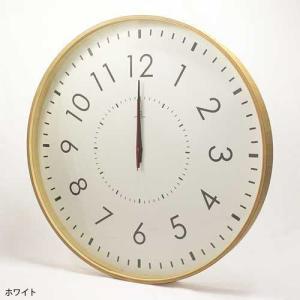 LARGE CLOCK-電波時計- 時計 掛け時計 壁掛け時計 掛時計 壁掛時計 木製 ナチュラル 電波時計 シンプル 50cm モービル 子ども時計|kplanning|03