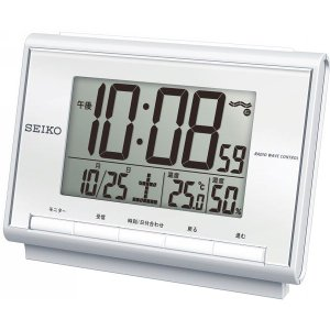 SEIKO【セイコー】電波目覚まし時計 (96-553)|kpmart