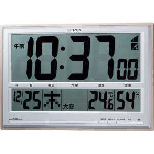 CITIZEN【シチズン】電波時計(掛置兼用) 8RZ111-019|kpmart