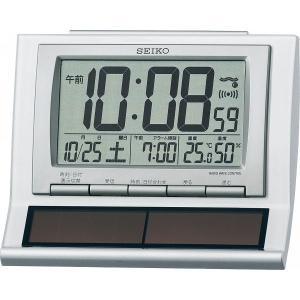 SEIKO【セイコー】電波ソーラー目覚まし時計 (94-542)|kpmart