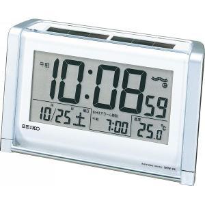 SEIKO【セイコー】電波ソーラー目覚まし時計 (712-564)|kpmart