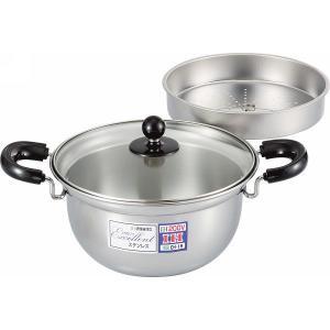 Excellent【エクセレント】ふきこぼれにくい両手鍋(24cm) EX-141|kpmart