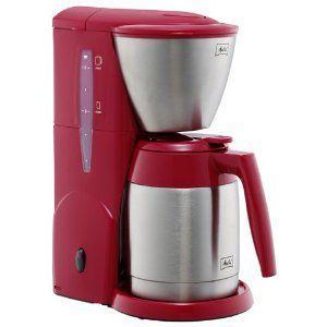 メリタコーヒーメーカー アロマサーモステンレス (レッド)|kpmart