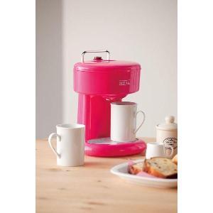 メリート 2カップコーヒーメーカー (ピンク)|kpmart