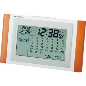 ADESSO【アデッソ】カレンダー電波時計 (TCA-051)|kpmart