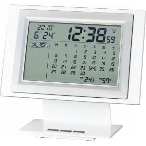 ADESSO【アデッソ】六曜カレンダー電波時計 (714-591)|kpmart