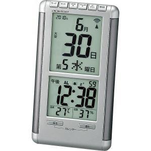 ADESSO【アデッソ】日めくり電波時計 (714-516)|kpmart