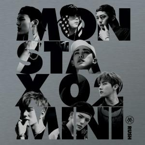 MONSTA X、2nd Mini Album_[RUSH](Official Ver.) kpopbokujostore
