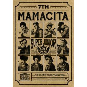 スーパージュニア、7th Album、[MAMACITA]_B Version|kpopbokujostore