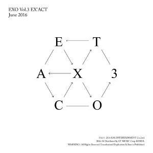 EXO、3rd Full Album_[EX'ACT](Korean Ver.)