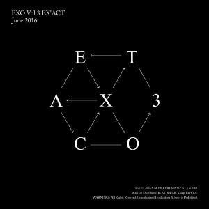 EXO、3rd Full Album_[EX'ACT](Chinese Ver.)