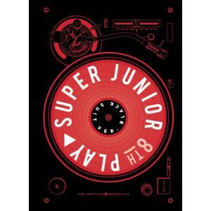 Super Junior_8th Full Album_[PLAY](Black Suitバージョン)|kpopbokujostore