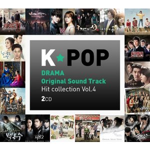 K-POP DRAMA OST Hit Collection Vol.4 (2CD)|kpopbokujostore